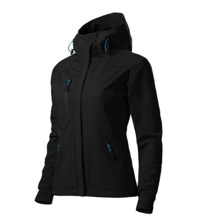 Nano softshellová bunda dámská černá 2XL