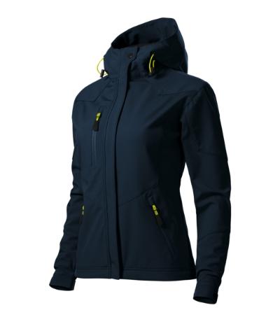 Nano softshellová bunda dámská námořní modrá 2XL