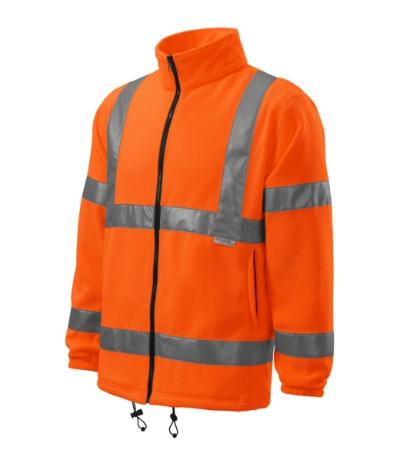 HV Fleece Jacket reflexní oranžová XXXL