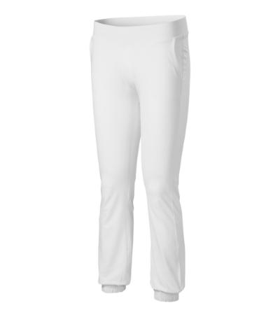 Kalhoty dámské Pants Leisure 200 bílé XXL