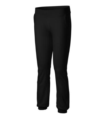 Kalhoty dámské Pants Leisure 200 černé XXL