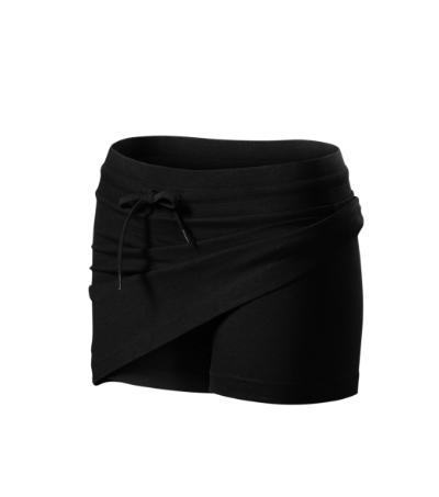 Sukně dámská Skirt two in one černá XL