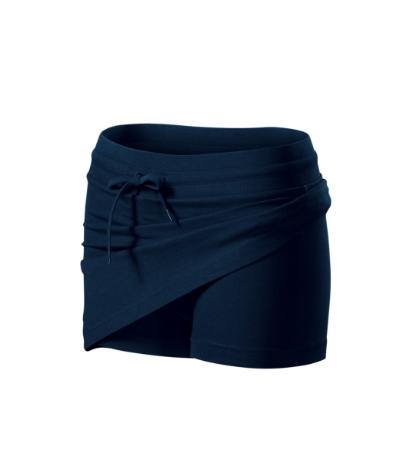 Dámská sukně Skirt two in one 200 námořní modrá XL