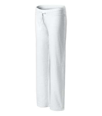 Comfort tepláky dámské bílá XXL