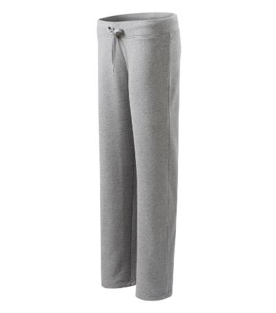 Comfort tepláky dámské tmavě šedý melír XXL