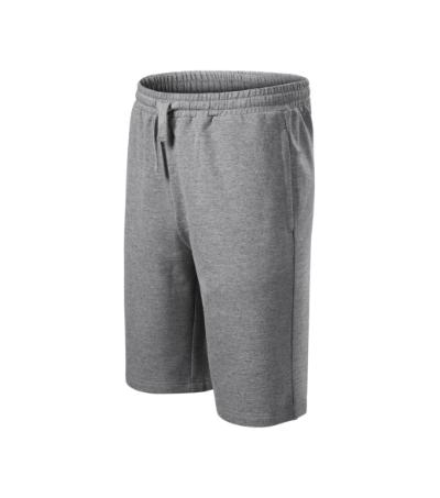 Comfy šortky pánské tmavě šedý melír 3XL