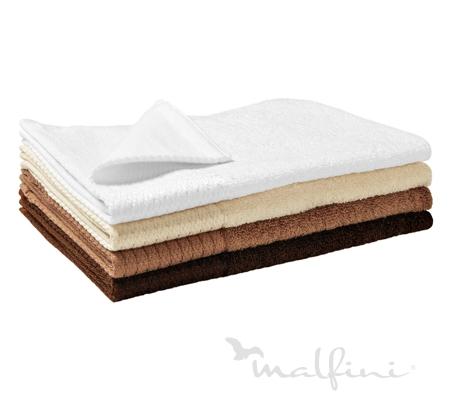 Malfini Bamboo Golf Towel kávová 30 x 50 cm