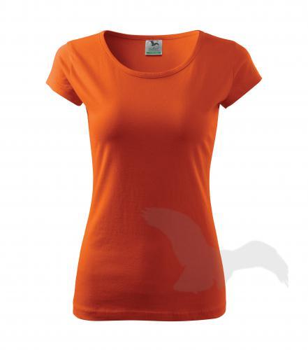 Pure tričko dámské oranžová XL