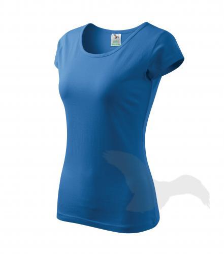 Pure tričko dámské azurově modrá 2XL