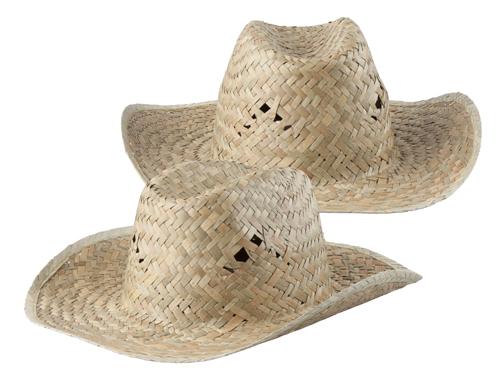 Bull slaměný klobouk