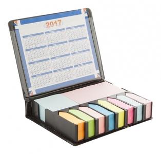 Highschool sada samolepících bločků a kalendáře v pouzdře