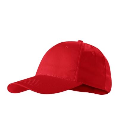 Sunshine čepice unisex červená nastavitelná