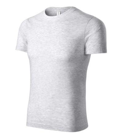 Paint tričko unisex světle šedý melír XXXXL