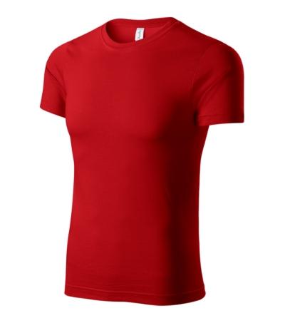 Paint tričko unisex červená XXXXL
