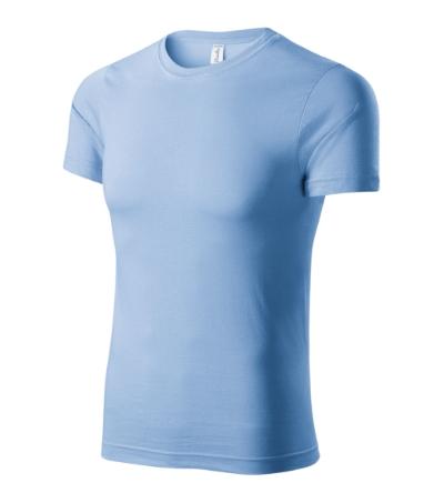 Paint tričko unisex nebesky modrá XXXXL
