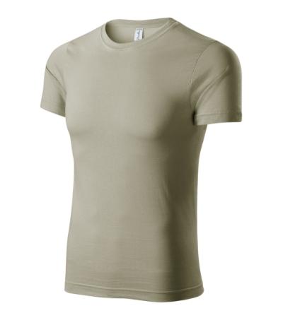 Paint tričko unisex světlá khaki XXXXL