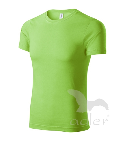 Paint tričko unisex apple green XXXXL