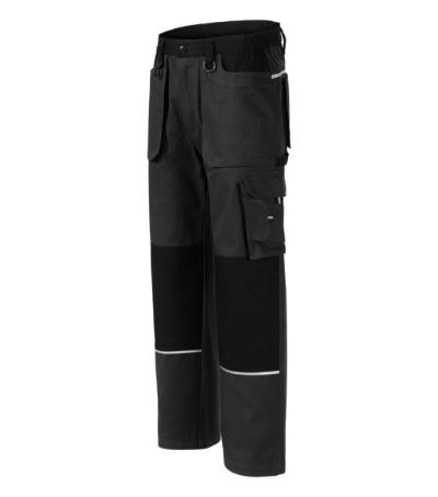 Woody pracovní kalhoty pánské ebony gray 2XL