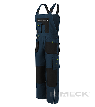 Ranger pracovní kalhoty s laclem pánské námořní mo