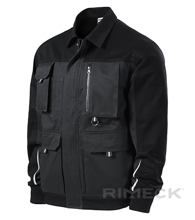 Woody pracovní bunda pánská ebony gray 2XL