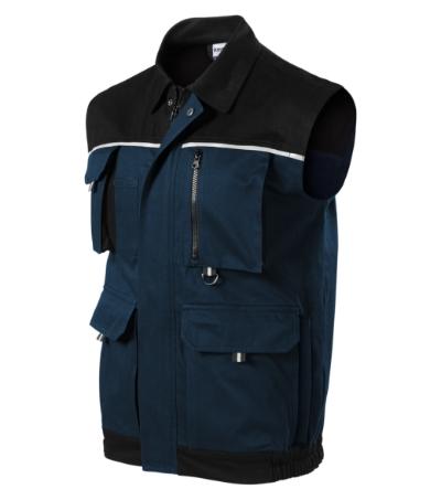 Woody pracovní vesta pánská námořní modrá 2XL