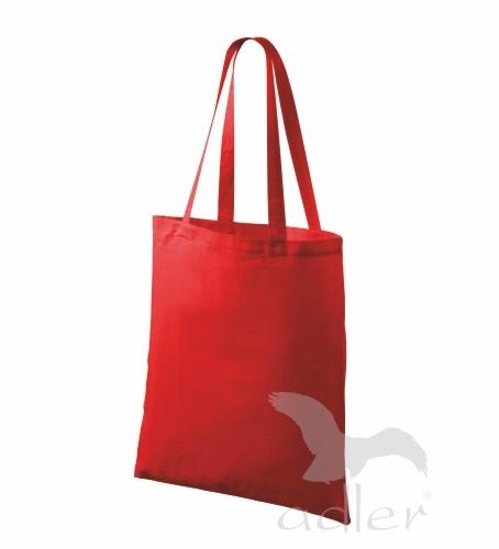 Bavlněné tašky 38 x 42 cm - červené, dlouhé ucho