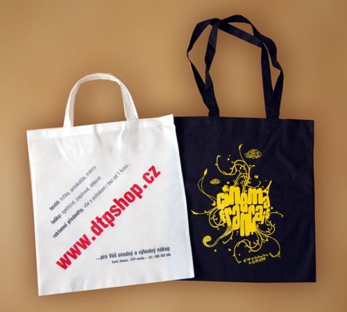 Ukázka potisků na tašky