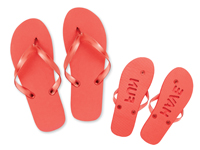 JUNE - Plážové pantofle, velikost L