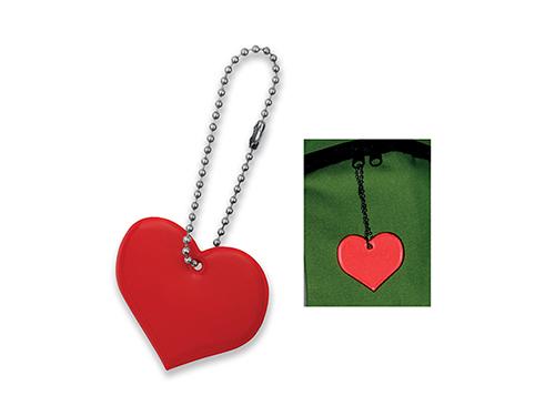 HEARTIVE - plastový přívěsek - reflexní