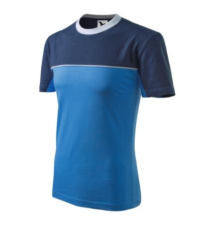 Tričko Colormix 200 azurově modré XL