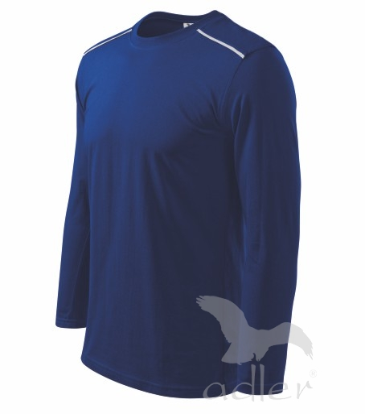 Triko Unisex long sleeve 180 královská modrá XL