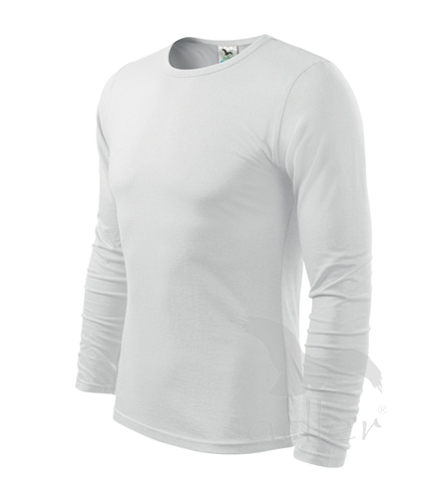 Triko pánské FIT-T Long Sleeve 160 bílé M