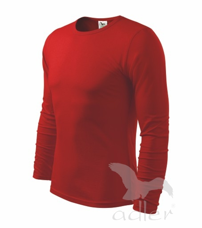 Triko pánské FIT-T Long Sleeve 160 červené XL