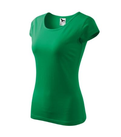 Tričko dámská Pure 150 středně zelené XXL