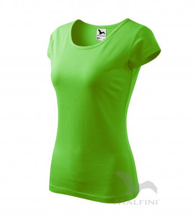 Pure tričko dámské apple green 2XL