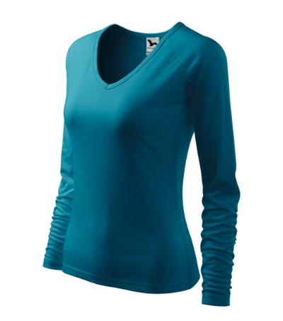 Tričko dámské Elegance tmavý tyrkys XL
