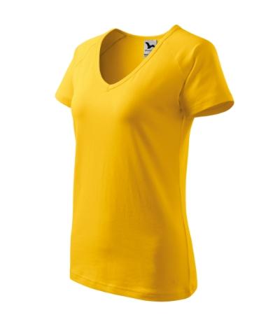 Trička Tričko dámské Dream žlutá S