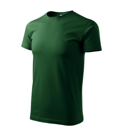 Tričko Basic lahvově zelená XL