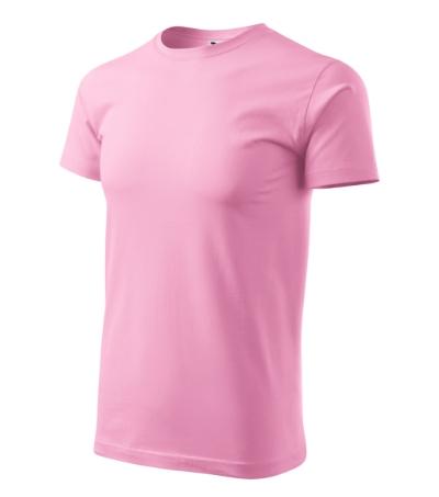 Basic tričko pánské růžová L