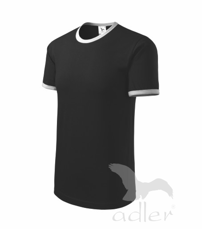 Tričko uinisex Infinity černá/bílá XL