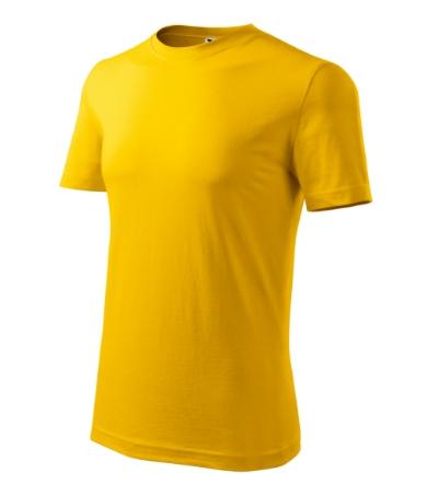Tričko pánské Classic New žlutá XL