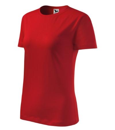 Tričko dámské Classic New červená XXL
