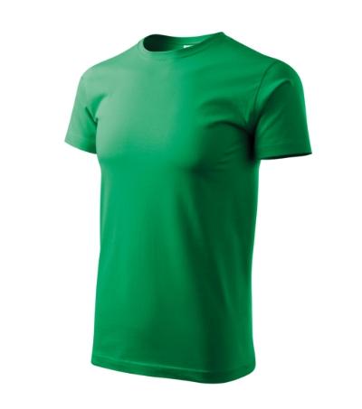 Tričko Heavy New středně zelená XS