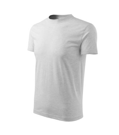 Tričko dětské Basic světle šedý melír 10 let