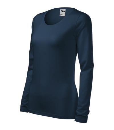 54792fe6325 Triko dámské Slim námořní modrá XXL