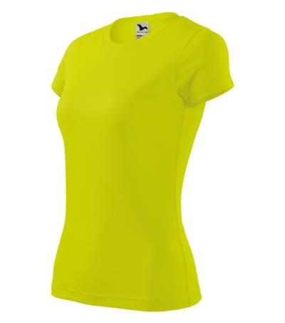 Tričko dámské Fantasy neon yellow XL