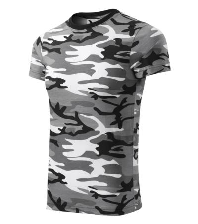 Tričko Camouflage camouflage gray M