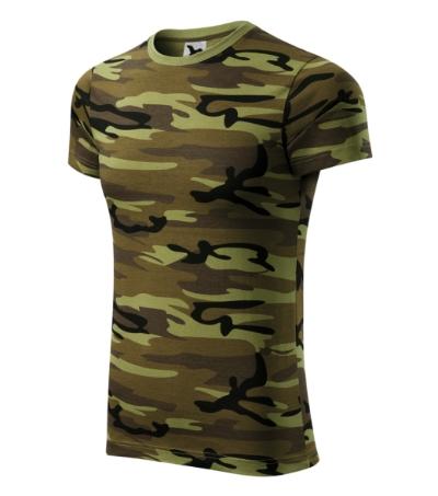 Tričko Camouflage camouflage green XXL