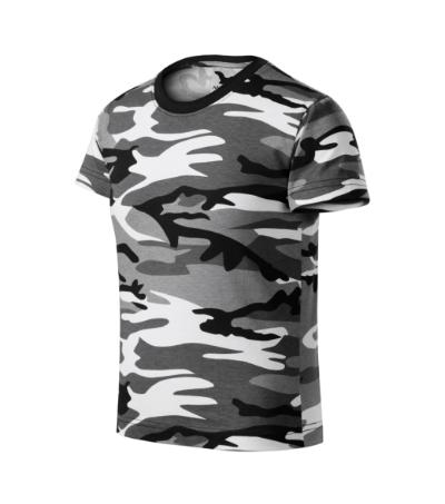 Camouflage tričko dětské camouflage gray 158 cm/12