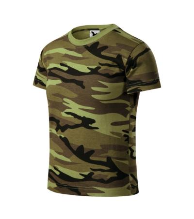 Camouflage tričko dětské camouflage green 146 cm/1
